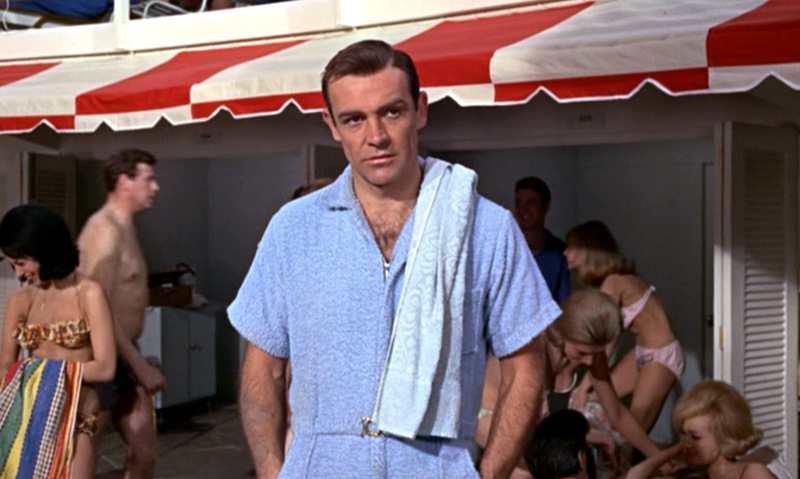 "Sean Connery ""Goldfinger"""
